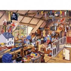 Puzzle 1000 pièces - Le grenier de grand-mère