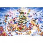 Puzzle 1000 pièces - Noël avec Disney
