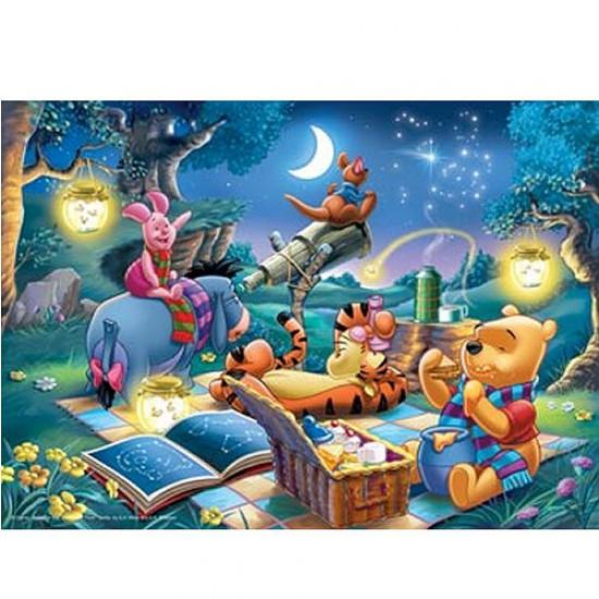 Puzzle 1000 pièces - Winnie l'Ourson : Observation des étoiles - Ravensburger-15875