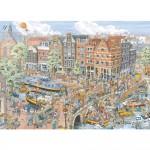 Puzzle 1000 pièces : Amsterdam, Fleroux