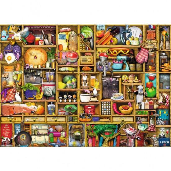 Puzzle 1000 pièces : Armoire de la cuisine - Ravensburger-19298