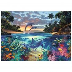 Puzzle 1000 pièces : Baie de coraux