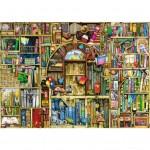 Puzzle 1000 pièces : Bibliothèque bizarre