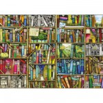 Puzzle 1000 pièces : Bibliothèque magique