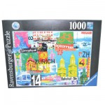 Puzzle 1000 pièces : Bienvenue à Zürich