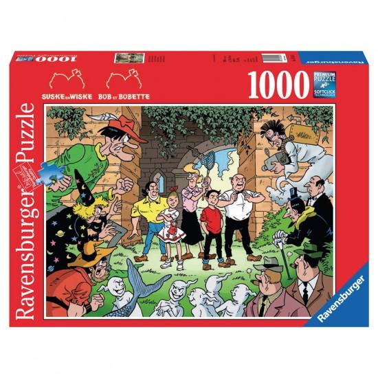 Puzzle 1000 pièces : Bob et Bobette, les bons contre les méchants - Ravensburger-19575