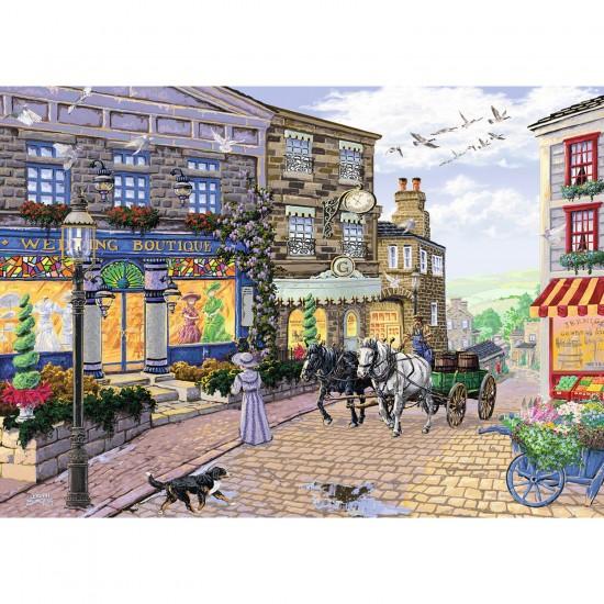 Puzzle 1000 pièces : Boutique de mariage - Ravensburger-19598