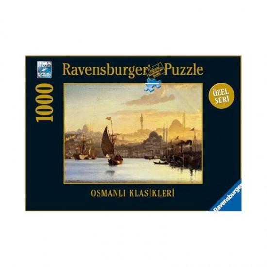 Puzzle 1000 pièces : Carl Neumann : Istanbul - Ravensburger-19129