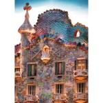Puzzle 1000 pièces : Casa Batlló, Barcelone