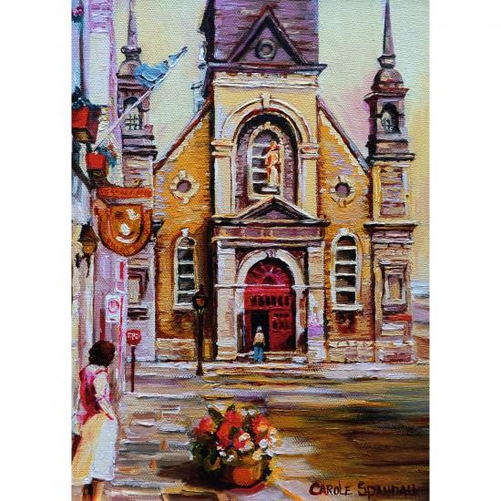 Puzzle 1000 pièces : Chapelle Bon secours Montréal - Ravensburger-19626