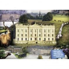 Puzzle 1000 pièces : Chatsworth House