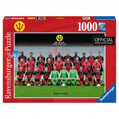 Puzzle 1000 pièces : Equipe officielle de Belgique, Les Diables Rouges 2016
