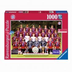Puzzle 1000 pièces : FC Bayern M. Saison 2014/2015