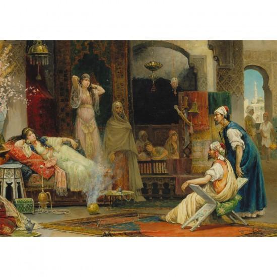 Puzzle 1000 pièces : Juan Gimenez Martin : Dans le Harem - Ravensburger-19091
