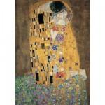 Puzzle 1000 pièces : Klimt : Le baiser