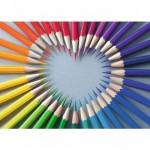 Puzzle 1000 pièces : La couleur du coeur