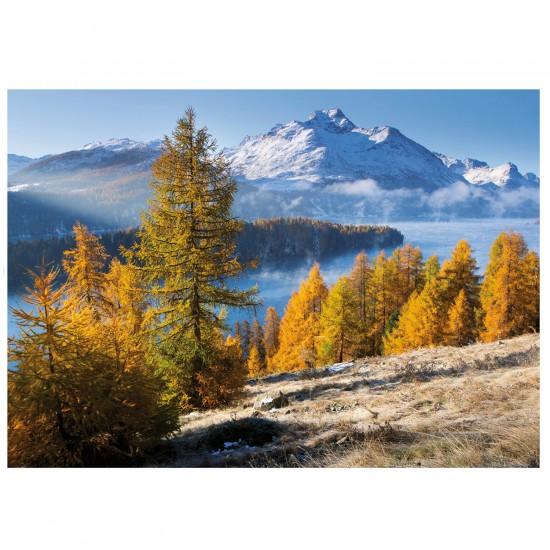 Puzzle 1000 pièces : Lac de Sils - Ravensburger-19099