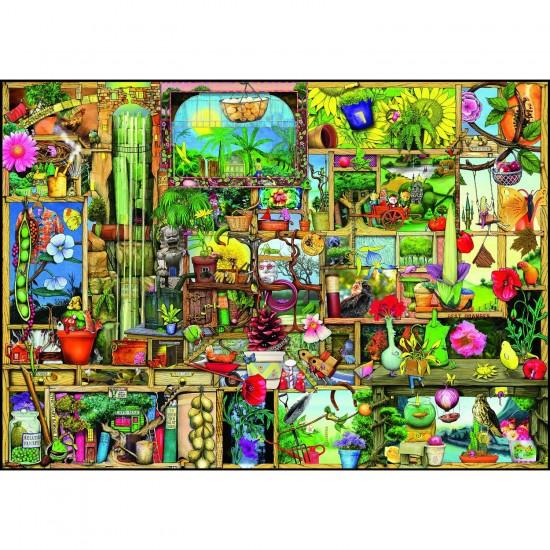 Puzzle 1000 pièces : L'armoire du jardinier - Ravensburger-19498