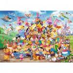 Puzzle 1000 pièces : Le carnaval de Disney