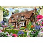Puzzle 1000 pièces : Le cottage aux oiseaux