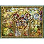 Puzzle 1000 pièces : Les plus beaux thèmes Disney