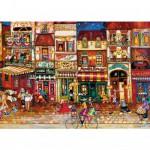 Puzzle 1000 pièces : Les rues de Paris