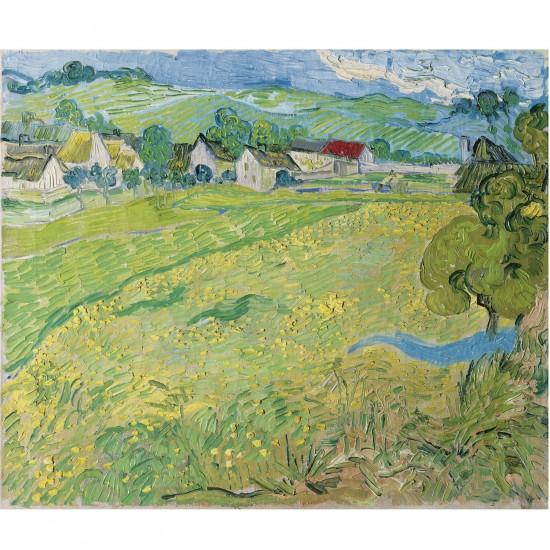 Puzzle 1000 pièces : Les Vessenots à Auvers, Vincent Van Gogh - Ravensburger-19221