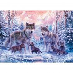 Puzzle 1000 pièces : Loups