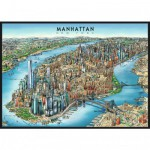 Puzzle 1000 pièces : Manhattan, New York