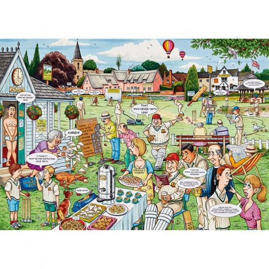 Puzzle 1000 pièces : Match de cricket - Ravensburger-19469
