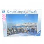 Puzzle 1000 pièces : Montagnes de Schladming Dachstein en Hiver, Autriche