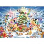 Puzzle 1000 pièces : Noël avec Disney