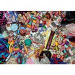Puzzle 1000 pièces : Paradis de couturière