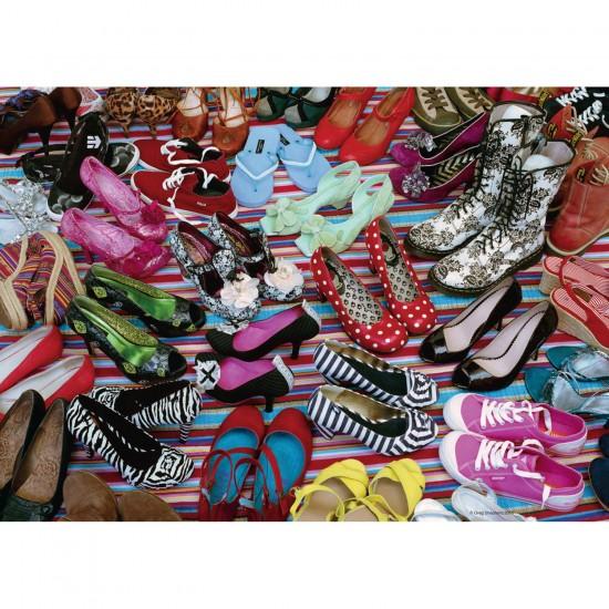 Puzzle 1000 pièces : Paradis des chaussures - Ravensburger-19560