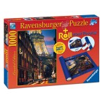 Puzzle 1000 pièces : Paris + Tapis de puzzle