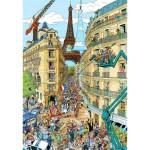 Puzzle 1000 pièces : Paris, Frans Le Roux