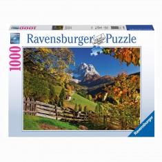 Puzzle 1000 pièces : Paysage de Monte Pelmo