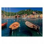 Puzzle 1000 pièces : Port de Portofino, Italie