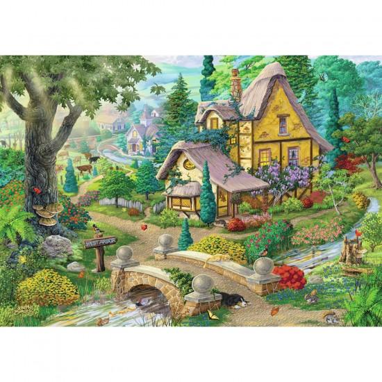 Puzzle 1000 pièces : Sentier vers West Arbor - Ravensburger-19518