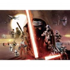 Puzzle 1000 pièces : Star Wars VII : Le réveil de la Force