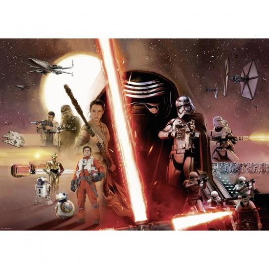 Puzzle 1000 pièces : Star Wars VII : Le réveil de la Force - Ravensburger-19549