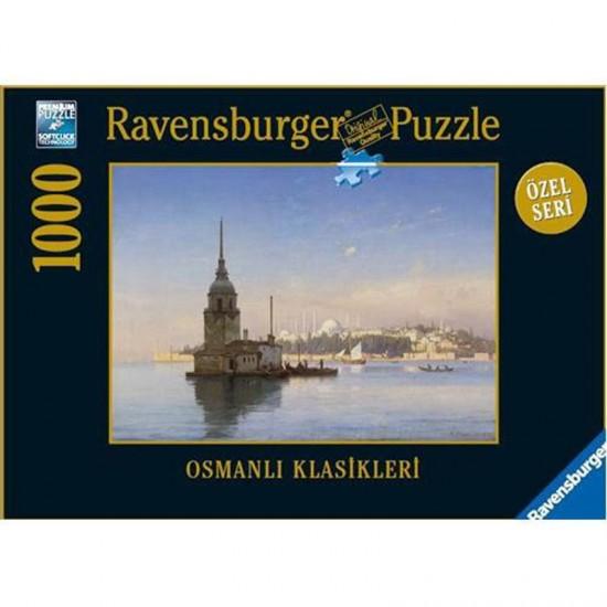 Puzzle 1000 pièces : Tour de Léandre à Istanbul - Ravensburger-19128