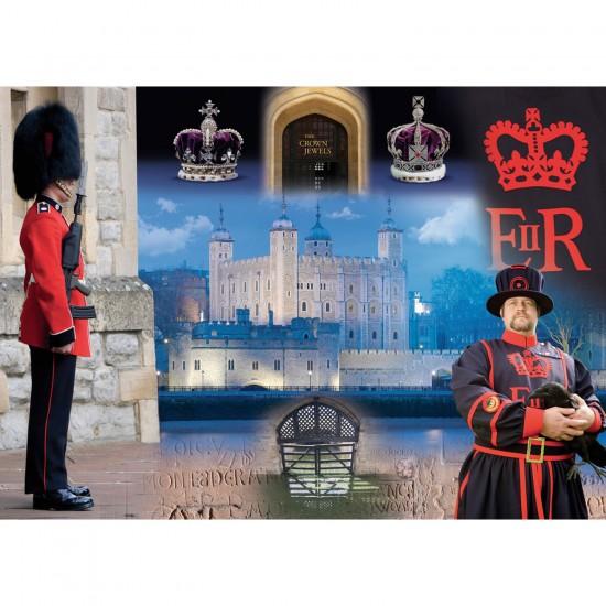Puzzle 1000 pièces : Tour de Londres - Ravensburger-19581