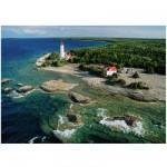 Puzzle 1000 pièces : Un phare à la péninsule de Bruce, Canada
