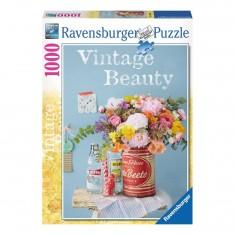 Puzzle 1000 pièces : Vintage Beauty