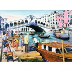 Puzzle 1000 pièces : Vintage Venise