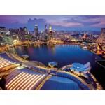Puzzle 1000 pièces : Vue sur Singapour