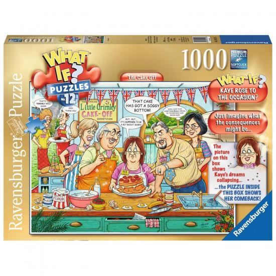 Puzzle 1000 pièces : What if ? :  Concours de gâteaux - Ravensburger-19513