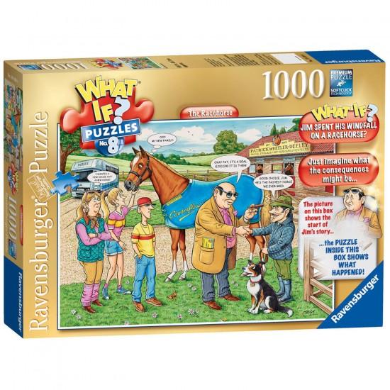Puzzle 1000 pièces : What if ? : Ecurie de course - Ravensburger-19438