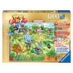 Puzzle 1000 pièces : What if ? : Journée porte ouverte au jardin